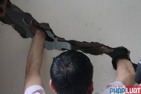 """Công ty Trung Việt """"kéo"""" chủ đầu tư KĐT Văn Phú vào vụ lún nứt nhà dân"""