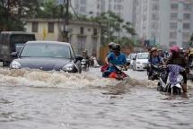 Còn 13 điểm ngập úng ở Hà Nội cần được giải quyết