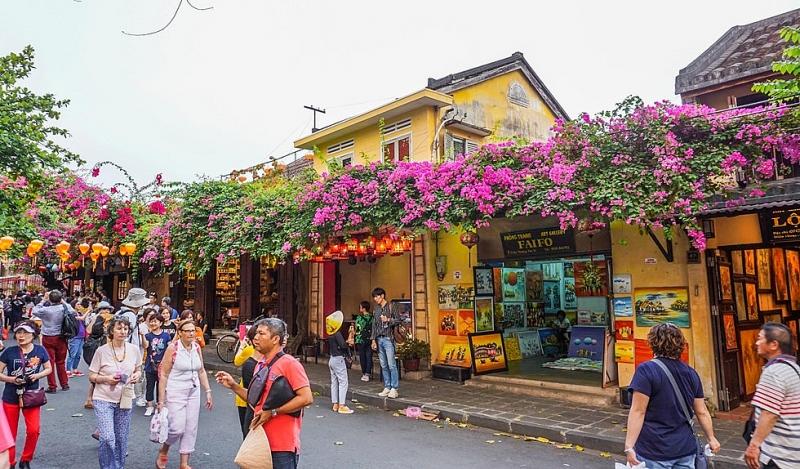 Một góc phố cổ Hội An được tái hiện giữa lòng thành phố Thanh Hóa