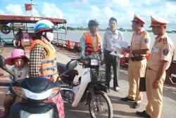 Ninh Bình chỉ đạo xử lý tình trạng bến khách ngang sông hoạt động trái phép