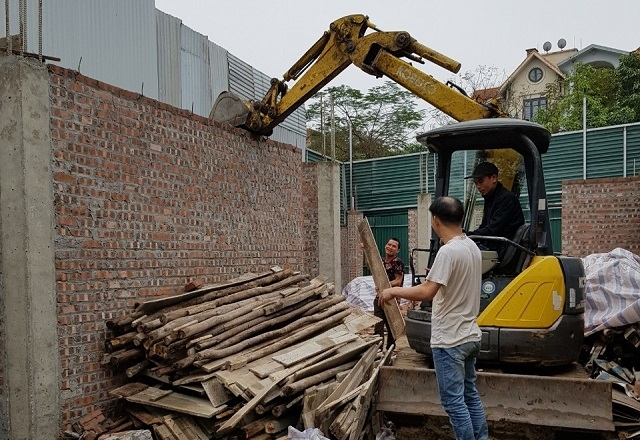 Hà Nội quyết xử lý dứt điểm các vi phạm về trật tự xây dựng, đất đai
