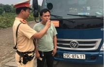 CSGT Hà Nội xử phạt hàng trăm vi phạm uống rượu bia vẫn lái xe