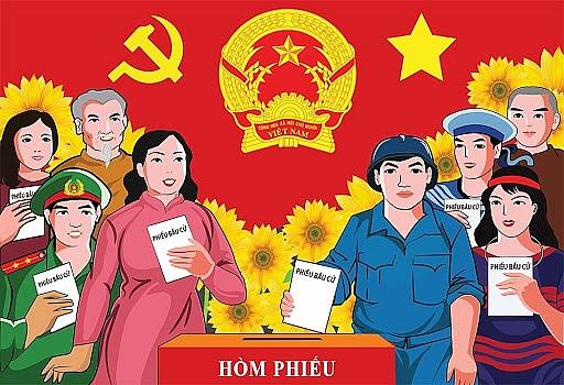 Thanh Hóa: Vận động bầu cử bằng hệ thống truyền hình trực tuyến