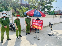 Thanh Hóa: Công an huyện Thiệu Hóa căng mình chống dịch