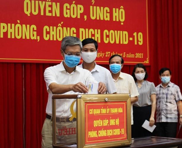 Thanh Hóa kêu gọi toàn dân quyên góp ủng hộ phòng, chống dịch Covid-19