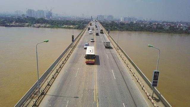 Mặt cầu Thăng Long bị xuống cấp nghiêm trọng