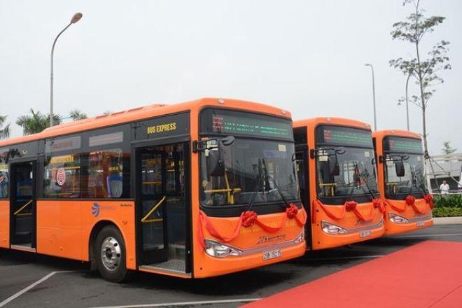 Thêm một tuyến Buýt chất lượng cao từ Hà Đông đến Sân bay Nội Bài
