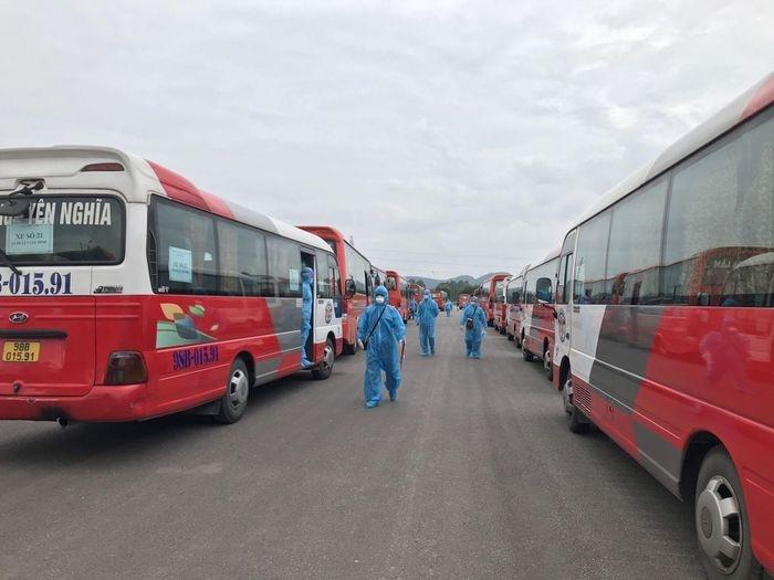 Thanh Hóa sẽ tiếp nhận công nhân làm việc từ Bắc Giang trở về