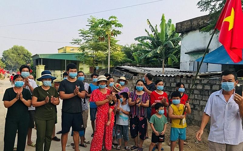 Thanh Hóa: Dỡ bỏ phong tỏa khu dân cư tại phố Trung Sơn, thị trấn Bút Sơn