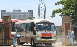 Thanh Hóa tiếp nhận gần 400 công dân từ Bắc Giang trở về địa phương