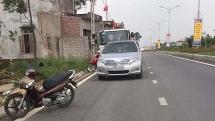 giam doc doanh nghiep di sung vao dau tai xe xe cau sau va cham giao thong