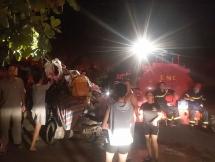 Cháy chợ Năm Tầng ở Bỉm Sơn, ước tính thiệt hại gần 1 tỷ đồng