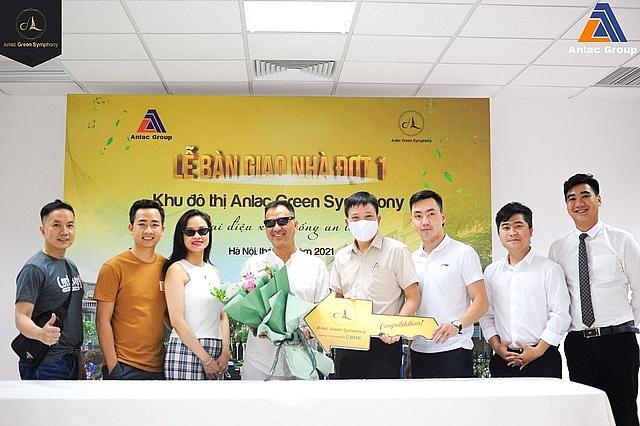 AnLac Group bắt đầu bàn giao nhà tại dự án Green Symphony