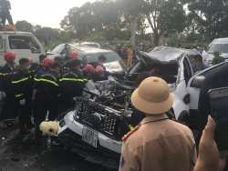 Thanh Hóa: Tai nạn liên hoàn khiến 1 người tử vong