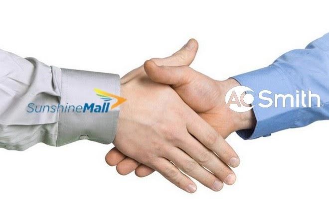 Ưu đãi tháng 7 cùng sự hợp tác của Sunshine Mall và A.O.Smith