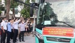 50 y, bác sĩ Thanh Hoá lên đường chống dịch tại TP Hồ Chí Minh và Bình Dương