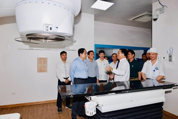 Bệnh nhân ung thư được chuyển thẳng từ trạm y tế xã lên Bệnh viện Hợp Lực