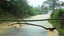 Hàng ngàn học sinh miền núi Thanh Hóa phải nghỉ học vì mưa lớn