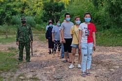 Thanh Hóa: Đưa 6 người nước ngoài nhập cảnh trái phép đi cách ly