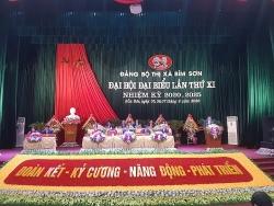 Khai mạc Đại hội Đại biểu Đảng bộ thị xã Bỉm Sơn lần thứ XI