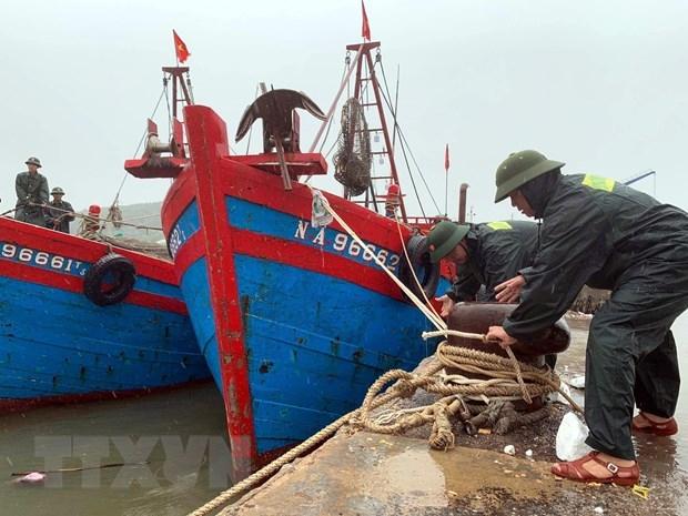 Các tỉnh Bắc Bộ chủ động ứng phó với áp thấp nhiệt đới gần Biển Đông