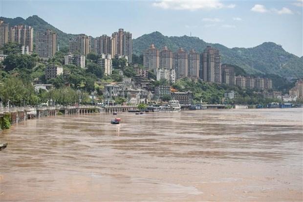 Trung Quốc sơ tán hơn 100.000 người dân do lũ lụt trên sông Dương Tử