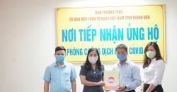 Ngân hàng Vietcombank chung tay chống dịch Covid-19 cùng tỉnh Thanh Hóa