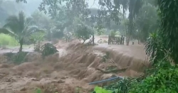 Bão Hegos đổ bộ Thái Lan gây mưa lớn và lũ quét cho tới ngày 23/8