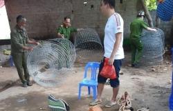 """Thanh Hóa: Bắt quả tang xới bạc """"gà chọi"""" tại thị xã Bỉm Sơn"""