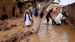 Afghanistan: Mưa lớn kéo dài gây lũ quét khiến ít nhất 30 người chết