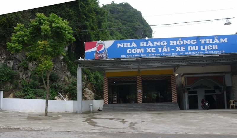 Thanh Hóa: Thị xã Bỉm Sơn tạm dừng hoạt động kinh doanh các quán ăn dọc Quốc lộ 1A