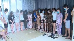 Thanh Hóa: Bắt quả tang nhóm nam, nữ tổ chức sử dụng ma túy trong quán karaoke