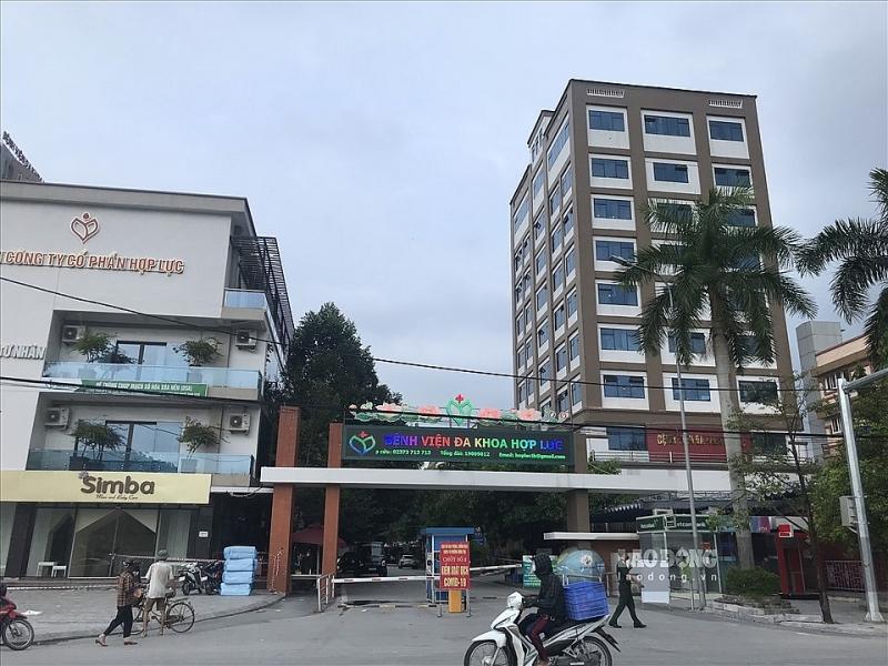 Thanh Hóa: Gần 2.000 mẫu xét nghiệm có kết quả âm tính tại ổ dịch Bệnh viện Đa khoa Hợp Lực
