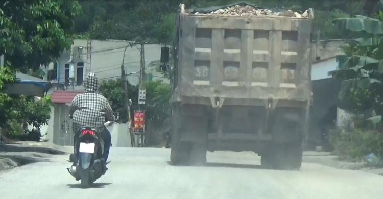 Đầu năm Thanh Hóa xử lý hàng trăm xe quá tải