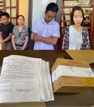Bắt 4 đối tượng làm giả giấy khám sức khỏe, bệnh án ở Thanh Hóa