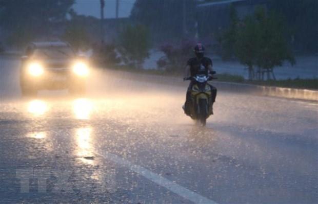 Vùng núi Bắc Bộ mưa to cục bộ, đề phòng lũ quét, sạt lở đất