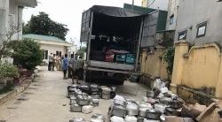 Thanh Hóa: Một xe tải chở đồ điện không rõ nguồn gốc bị bắt giữ