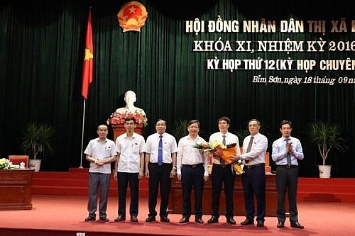 Thị xã Bỉm Sơn có tân Chủ tịch