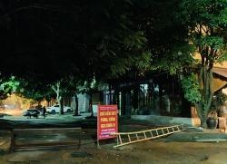 Khu dân cư của 2 phường Ngọc Trạo và Ba Đình TP Thanh Hóa tạm thời bị phong tỏa