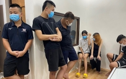 Thanh Hóa: Bắt quả tang nhóm nam nữ thuê nhà nghỉ sử dụng trái phép chất ma túy