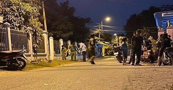 Thanh Hóa: Nam thanh niên bị chém tử vong ngay trên phố