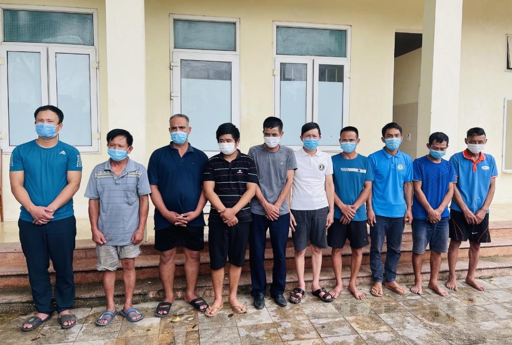 Triệt phá ổ nhóm đánh bạc tại huyện Triệu Sơn, Thanh Hóa
