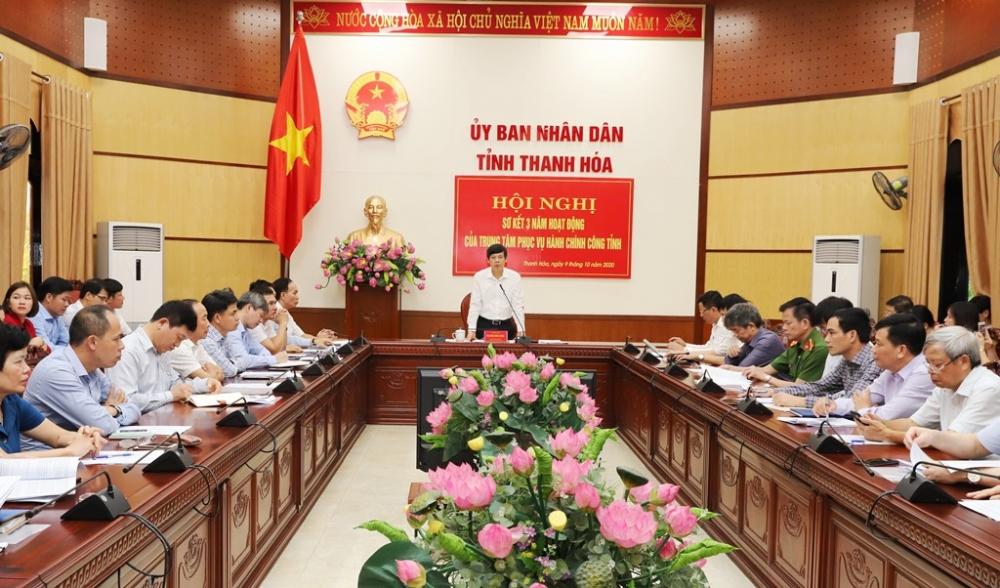 3 năm kích hoạt dịch vụ công tỉnh Thanh Hóa: Tỉ lệ quá hạn chỉ 0,5%