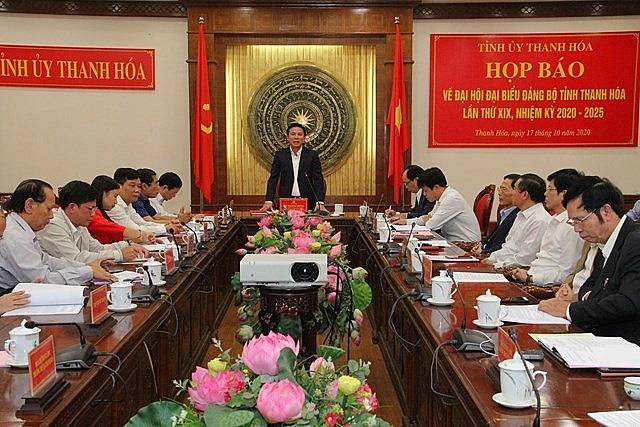 Thanh Hóa có 3 Phó Bí thư tỉnh ủy