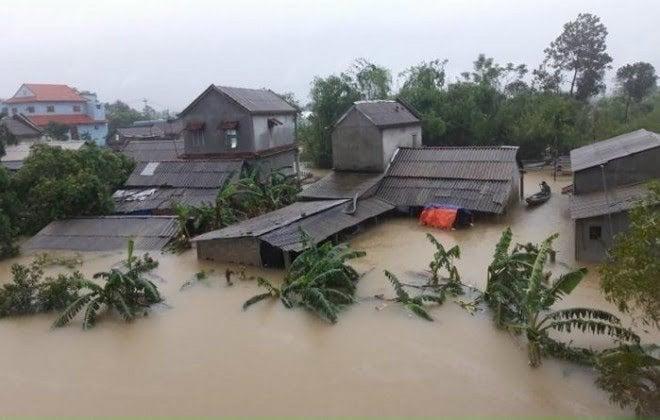 Thanh Hóa kêu gọi ủng hộ đồng bào miền trung bị lũ lụt