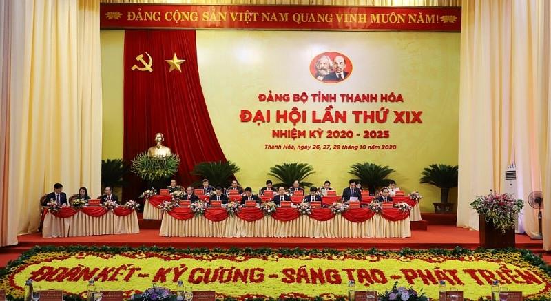 Đại hội đại biểu Đảng bộ tỉnh Thanh Hóa vào phiên trù bị
