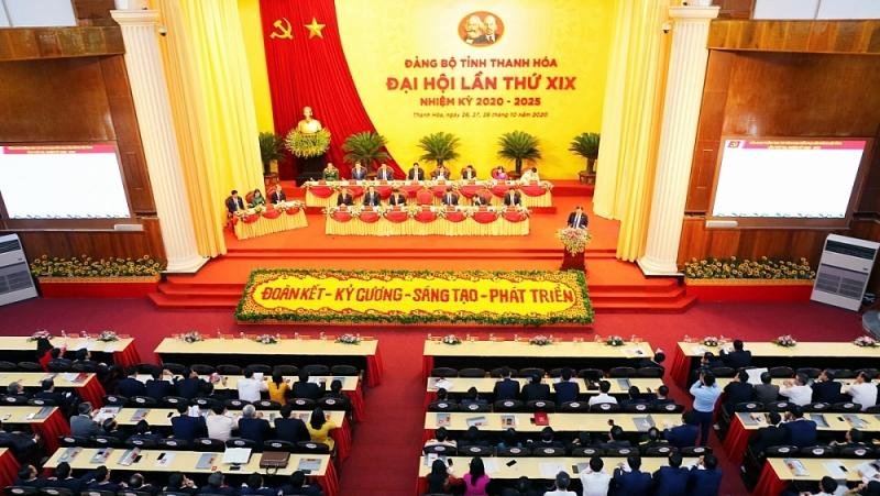 Khai mạc Đại hội Đảng bộ tỉnh Thanh Hoá lần thứ XIX
