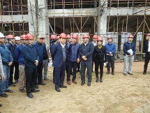 Kiểm tra tiến độ dự án nhà máy đốt rác phát điện lớn nhất Việt Nam