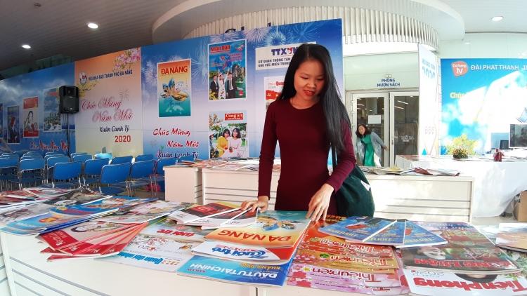 Đà Nẵng: Hơn 800 ấn phẩm hội tụ tại Hội báo Xuân Canh Tý 2020