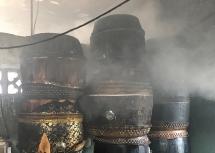 Đà Nẵng: Người đàn ông châm lửa hút thuốc bất ngờ gây cháy nhà giữa ban ngày